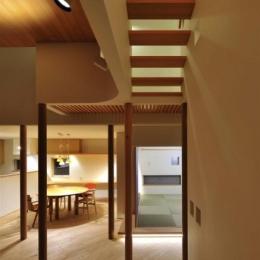 『うららかな家』清潔感・暖かみ・凛とした空気感をもつ住まい