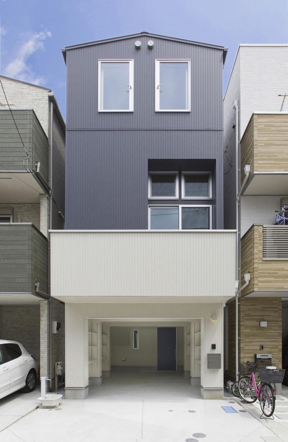 川崎の家 (外観1)