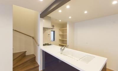 川崎の家 (キッチン1)