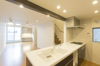 川崎の家 (キッチン2)