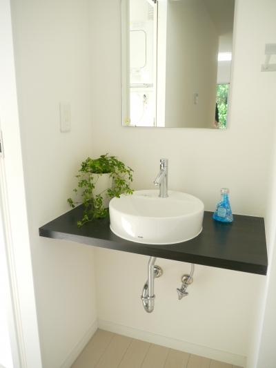 手洗いスペース (癒しの家)