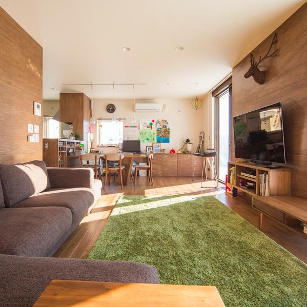 建築家:柴嵜 雄次「S邸・クライミングウォールのある、家族の笑顔溢れる住まい」