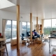 『片瀬山の家2』景色を楽しめる屋上デッキのある住まい