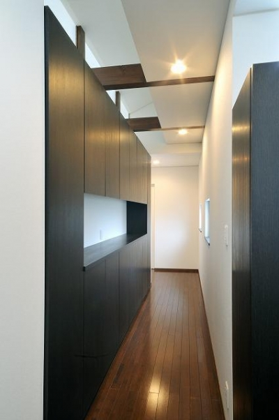 塩尻の家 (廊下)