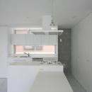 白で統一されたキッチン-2
