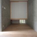『小さな2世帯ハウス』美しく心が豊かになる玉手箱の写真 和×クールなフリースペース