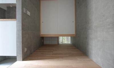 和×クールなフリースペース|『小さな2世帯ハウス』美しく心が豊かになる玉手箱