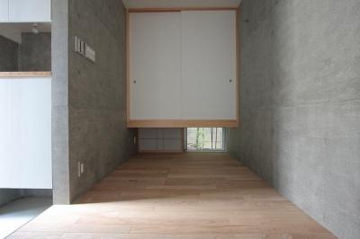 『小さな2世帯ハウス』美しく心が豊かになる玉手箱 (和×クールなフリースペース)