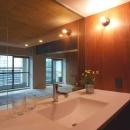 葛川かおるの住宅事例「『ハイサイはうす』素材感、質感を生かすマンションリノベ」