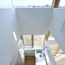 葛川かおるの住宅事例「『ノンちゃんのいえ』家族の気配・風景がひとつながりの家」