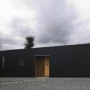 高崎T邸・正直素材仕上げの家の写真 シンプルな平屋外観