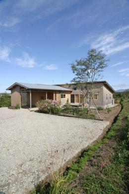 『須田の家』雄大なロケーションに建つアトリエ付き平屋住宅 (雄大なロケーションに建つ家-1)