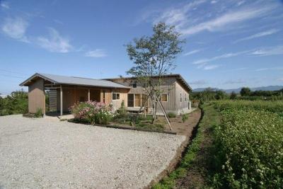 『須田の家』雄大なロケーションに建つアトリエ付き平屋住宅 (雄大なロケーションに建つ家-2)