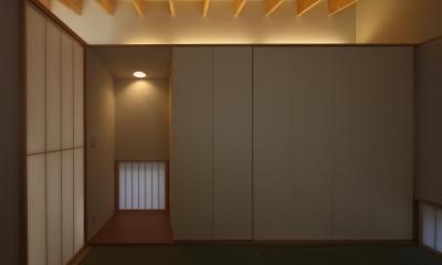 和室|『マロニエ通りの家』家族を心地よく、緩やかにつなぐ二世帯住宅