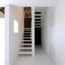 スタイリッシュな階段室