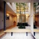 横山侑司の住宅事例「『世田谷S邸』鮮やかな竹のアプローチを持つ家」