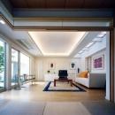 『大田区K邸』中庭でつながる二世帯コートハウス