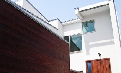 『楽しむ家』ホームシアター・サウナ・ブランコのある家 (楽しむ家-外観)