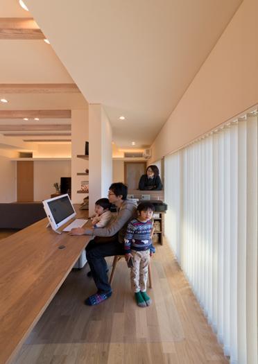 建築家:才本 清継「『菰野の民家再生』開放感・一体感のある住まい」