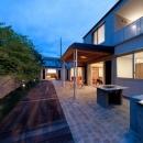 才本 清継の住宅事例「『名古屋のコートハウス』バーベキューテラスのある家」