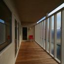 『厚別のCUBE』半戸外空間を楽しめるシンプルな住まい
