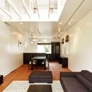 INTERLUDEの住宅事例「『houseS』光の間が家族間のコミュニケーションを育む家」