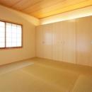壁一面クローゼットの和室