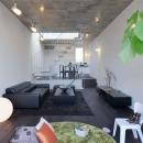 INTERLUDEの住宅事例「『モデルルーム Sunlight of calm』彩り豊かな住まい」