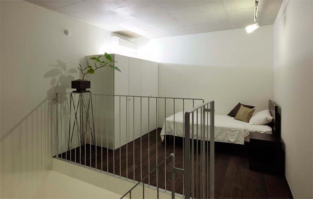 『モデルルーム Sunlight of calm』彩り豊かな住まいの部屋 コンパクトなベッドルーム