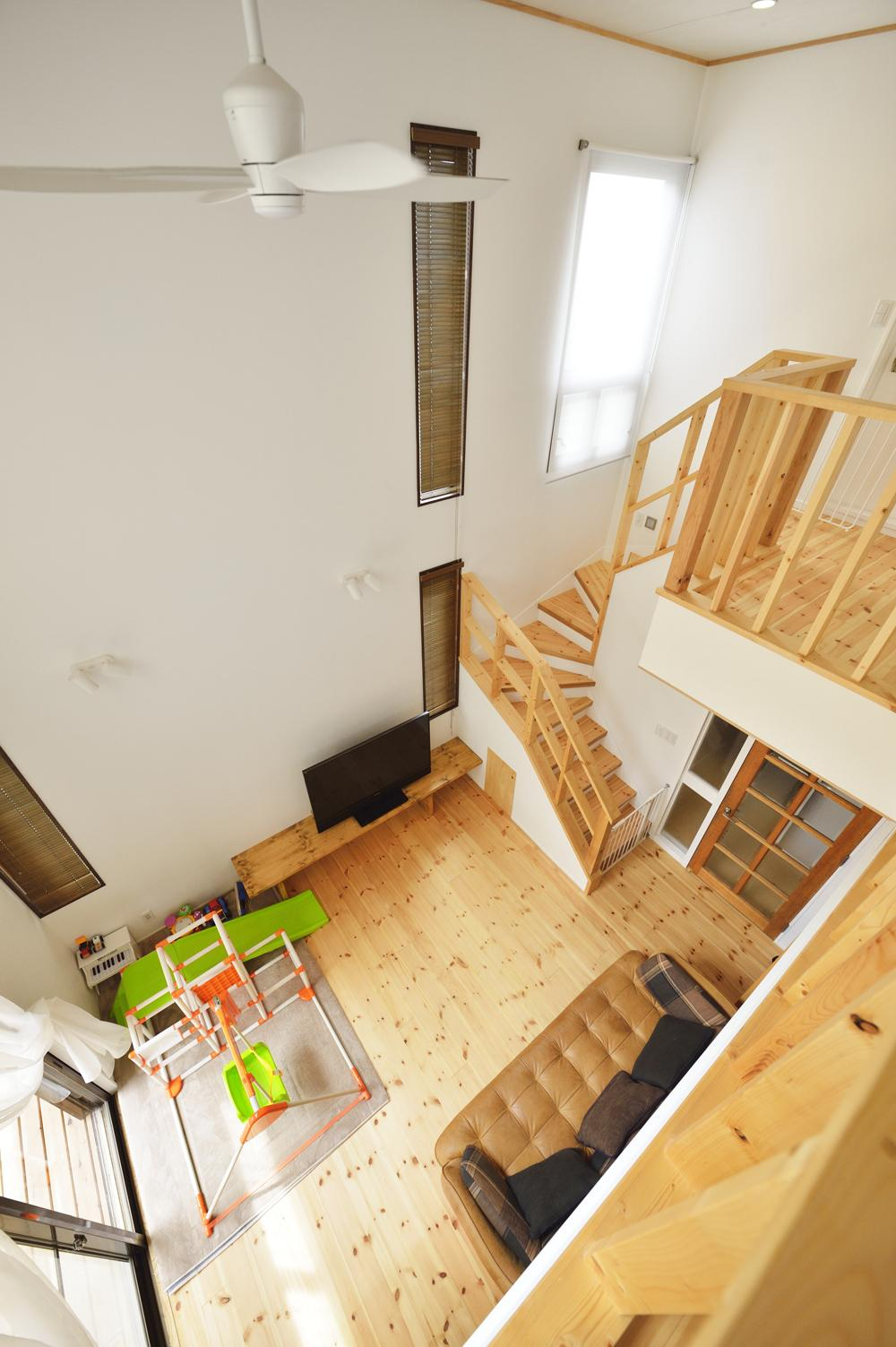 リフォーム・リノベーション会社:スタイル工房「S邸・「解放感!」吹き抜けのある家」