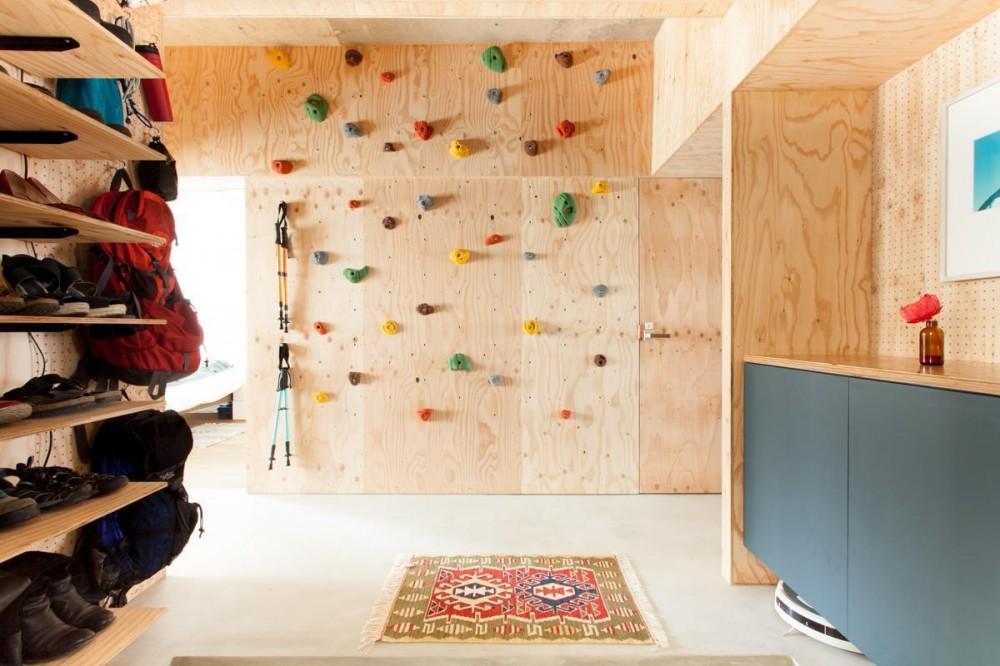 EcoDeco(エコデコ)「団地リノベーション!休日は家でボルダリング アウトドアを楽しむ家」
