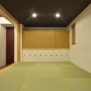 鎌田賢太郎の住宅事例「『六供後の家』門型ファサードのモダン住宅」