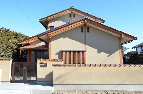 『蓬莱の家』独り暮らしと集まる家 (純和風住宅 外観)