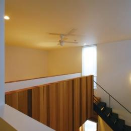『HOUSE YT』洗練されたスタイリッシュな住宅 (吹き抜け部分)