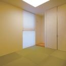 シンプルな現代和室