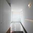 光の差し込む階段室-1