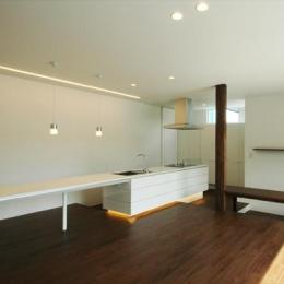 『HOUSE M&S』シンプルモダンな二世帯住宅