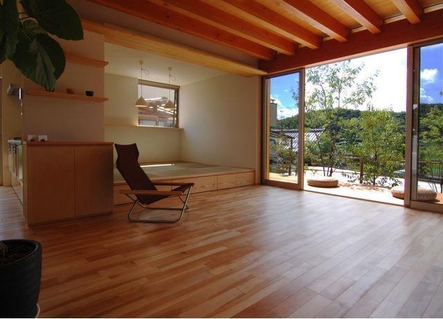 建築家:岩田 和哉「『伊左地の家』緑・光・風を感じる長期優良住宅」