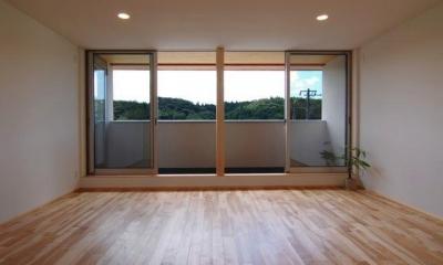 『伊左地の家』緑・光・風を感じる長期優良住宅 (開放的な子供部屋)