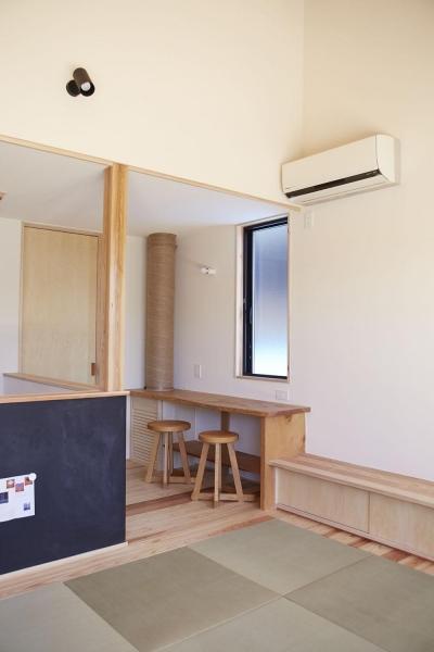 柳崎の住宅 (ライブラリースペース)