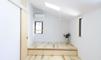 柳崎の住宅 (寝室)