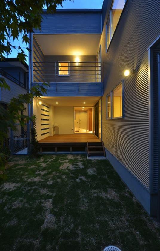建築家:広野 有一「N邸・充実したアウトドア空間」