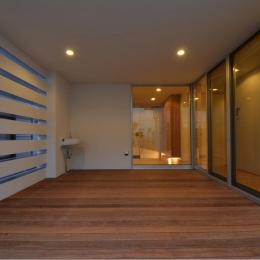 N邸・充実したアウトドア空間
