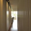 『太陽と風の門』光と風と景色をとりこむシンプルモダン住宅