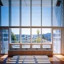 大田 司の住宅事例「『太陽と風が通る家』光・風・家族の気配が身近に感じられる住宅」