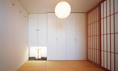 2階和室|『太陽と風が通る家』光・風・家族の気配が身近に感じられる住宅