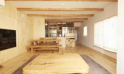 前川の住宅