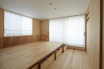寝室 (前川の住宅)