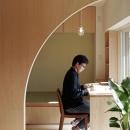 謡口志保の住宅事例「『人とモノの小さな居場所』小さな空間を緩やかにつなぐマンションリノベ」