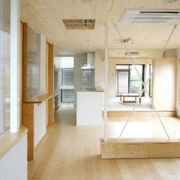 LDK-広がりのある空間 (I邸・広がりのある心地よい住まいにリノベーション)